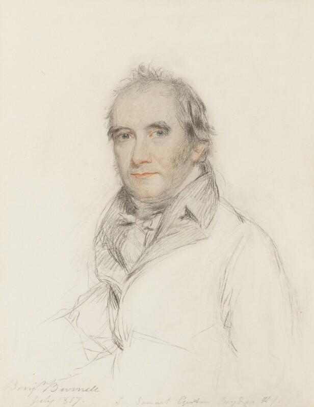 Sir Samuel Egerton Brydges, 1st Bt, by Benjamin Burnell, 1817 - NPG 2393 - © National Portrait Gallery, London