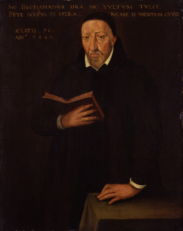 George Buchanan, after Arnold Bronckorst, 1581 - NPG 524 - © National Portrait Gallery, London