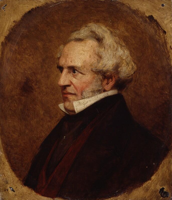 James Silk Buckingham, attributed to Clara Sophia Lane, circa 1850 - NPG 2368 - © National Portrait Gallery, London