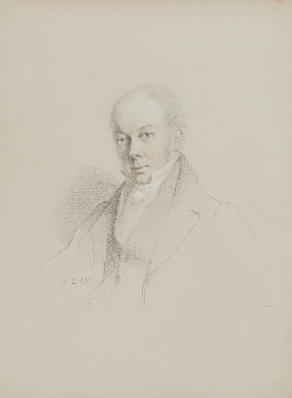William Buckland, by William Brockedon, 1838 - NPG 2515(87) - © National Portrait Gallery, London
