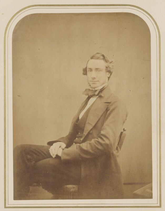 Woodyerill Buckton, by Maull & Polyblank, circa 1855 - NPG P106(5) - © National Portrait Gallery, London