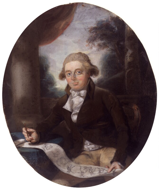 Henry William Bunbury, by Sir Thomas Lawrence, circa 1788 -NPG 4696 - © National Portrait Gallery, London