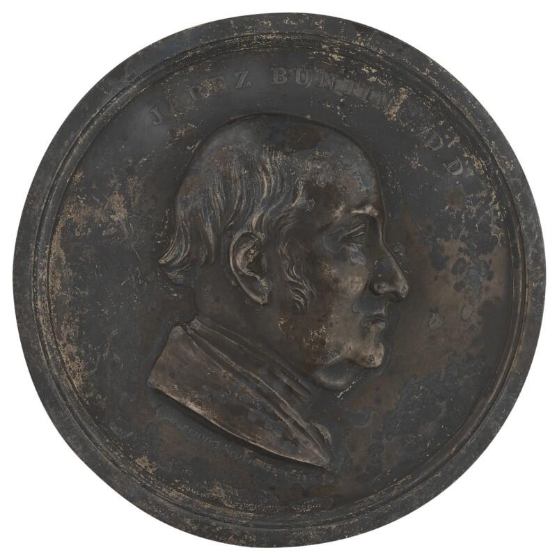 Jabez Bunting, by William Behnes, 1852 - NPG 4880 - © National Portrait Gallery, London