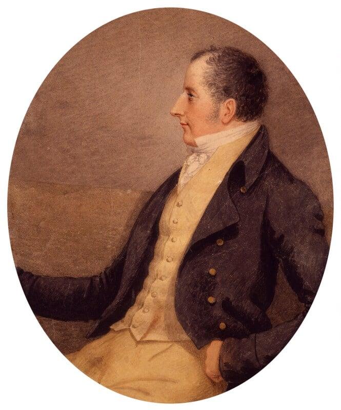 Sir Francis Burdett, 5th Bt, by Adam Buck, circa 1810 -NPG 1229 - © National Portrait Gallery, London
