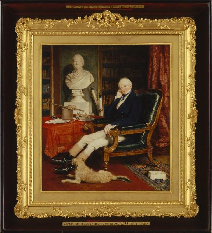 Sir Francis Burdett, 5th Bt, by Sir William Charles Ross, circa 1840 - NPG 2056 - © National Portrait Gallery, London