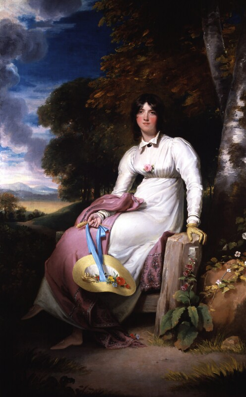 Sophia, Lady Burdett, by Sir Thomas Lawrence, after 1793 -NPG 3821 - © National Portrait Gallery, London