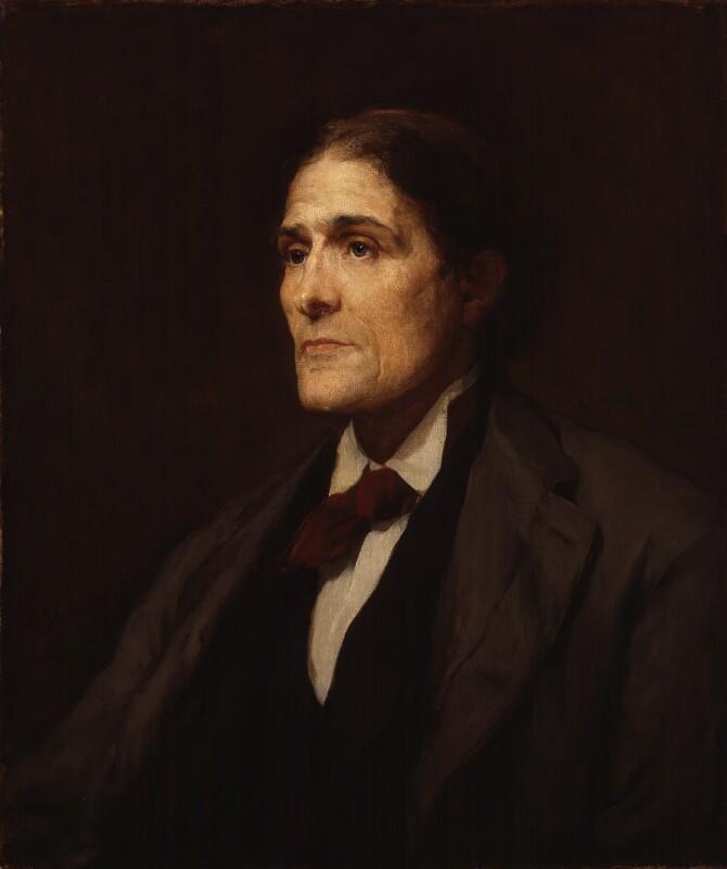 Sir John Scott Burdon-Sanderson, Bt, by Walter William Ouless, 1886 - NPG 4297 - © National Portrait Gallery, London