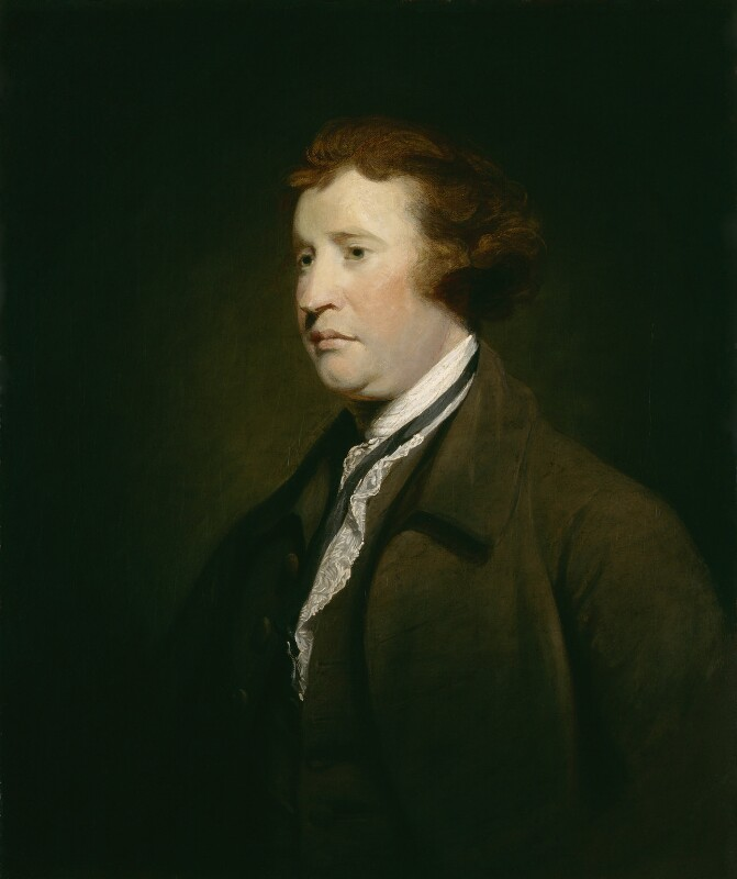 Nano's cousin Edmund Burke (1729-1797), studio of Sir Joshua Reynolds, oil on canvas, circa 1769 or after