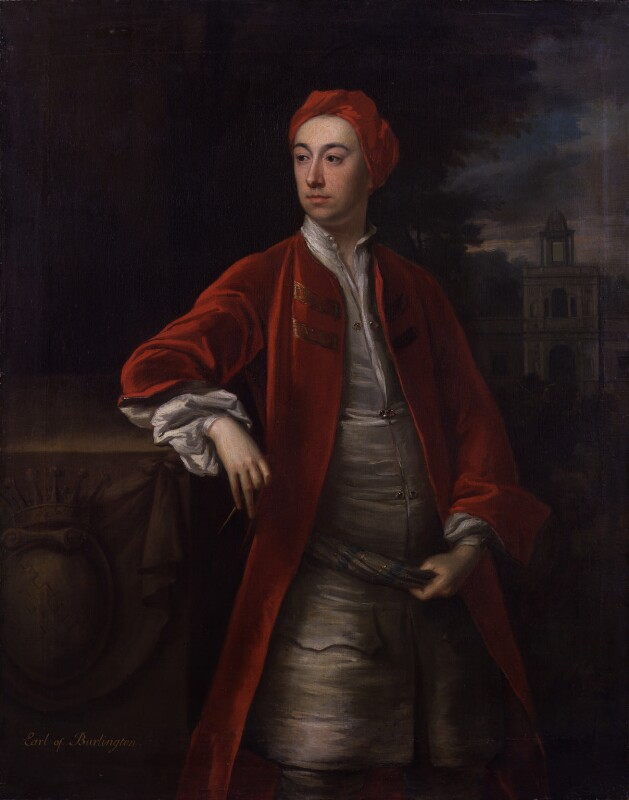 Richard Boyle, 3rd Earl of Burlington and 4th Earl of Cork, by Jonathan Richardson, circa 1717-1719 - NPG 4818 - © National Portrait Gallery, London