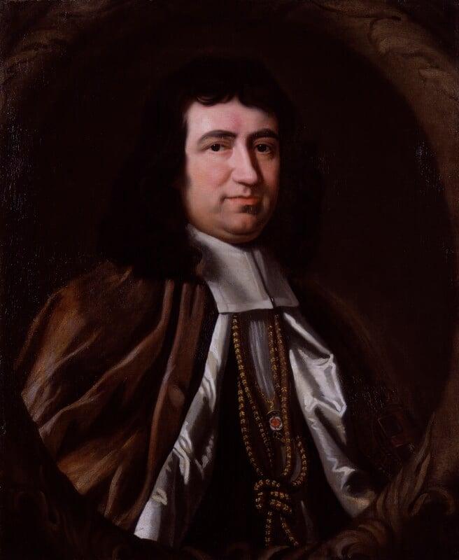Gilbert Burnet, by John Riley, based on a work of 1690 -NPG 159 - © National Portrait Gallery, London