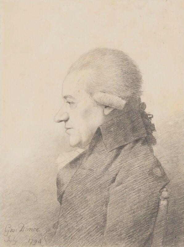 Charles Burney, by George Dance, 1794 - NPG 1140 - © National Portrait Gallery, London