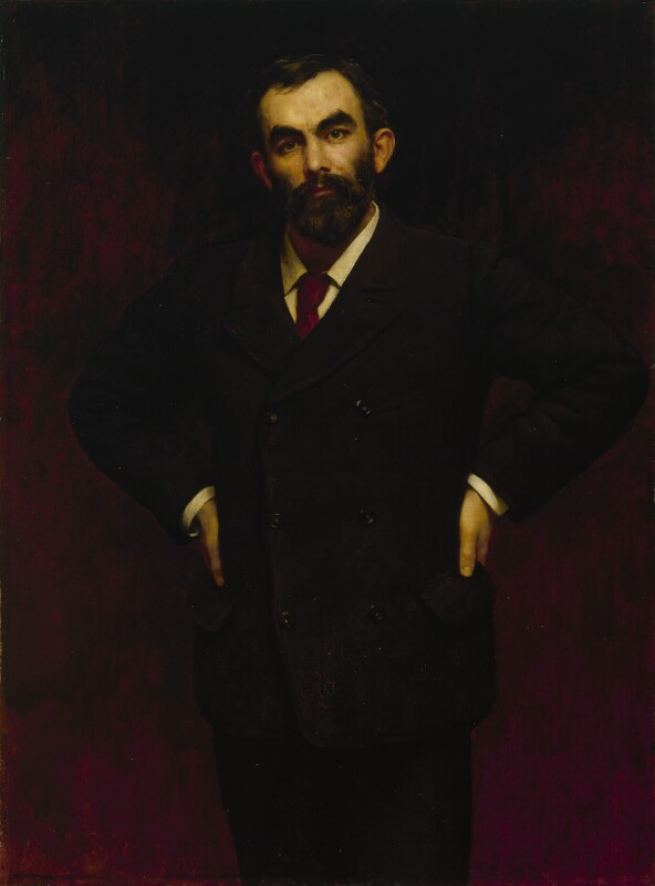 John Elliott Burns, by John Collier, 1889 - NPG 3170 - © National Portrait Gallery, London