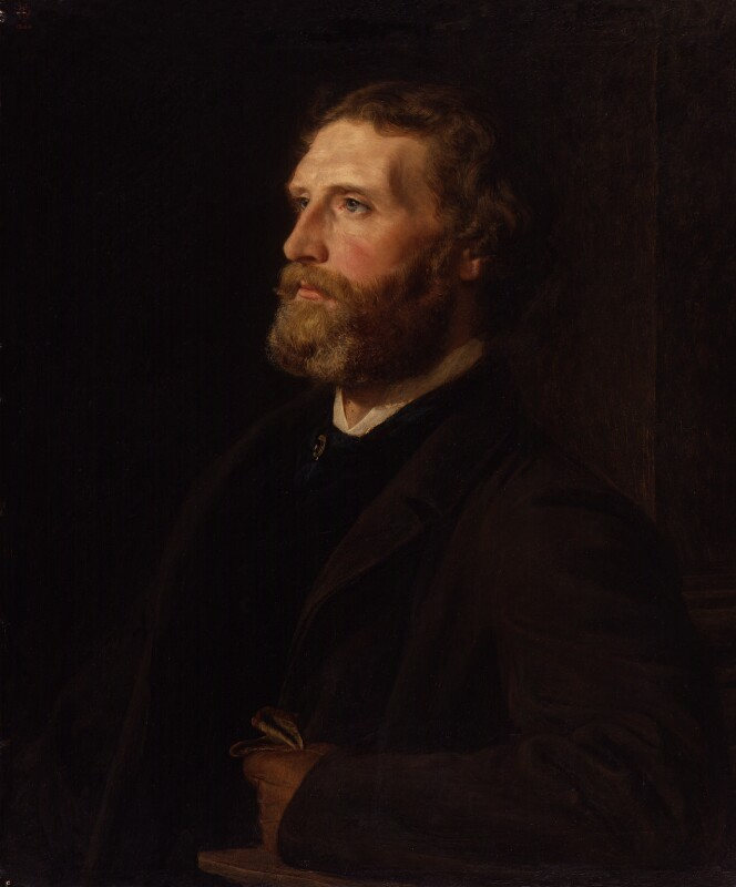 Sir Frederic William Burton, by Henry Tanworth Wells, 1863 -NPG 1701 - © National Portrait Gallery, London