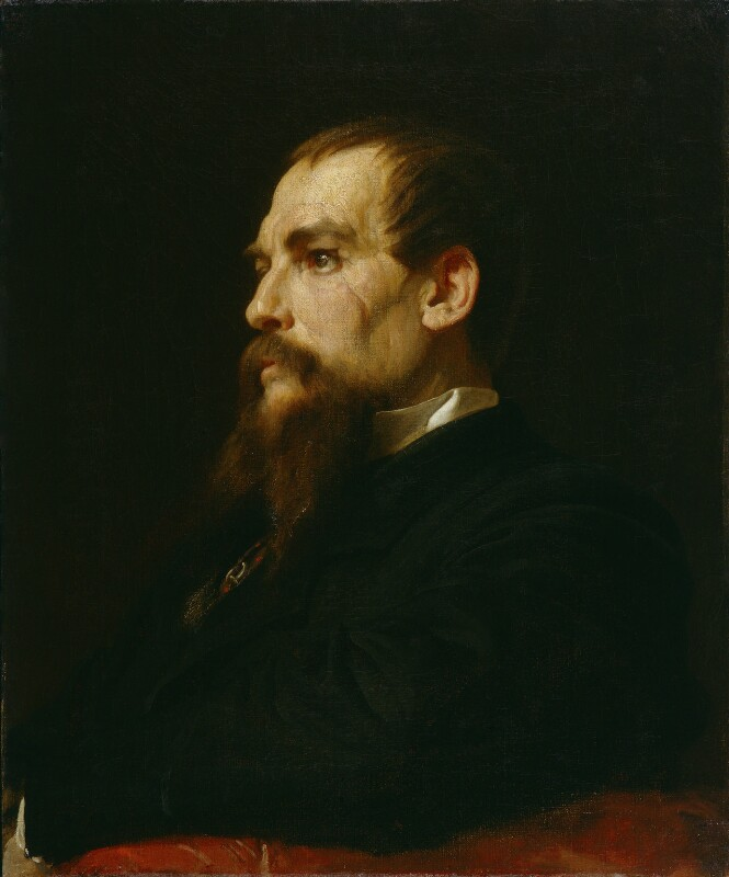 Sir Richard Francis Burton, by Frederic Leighton, Baron Leighton, 1872-1875 - NPG 1070 - © National Portrait Gallery, London