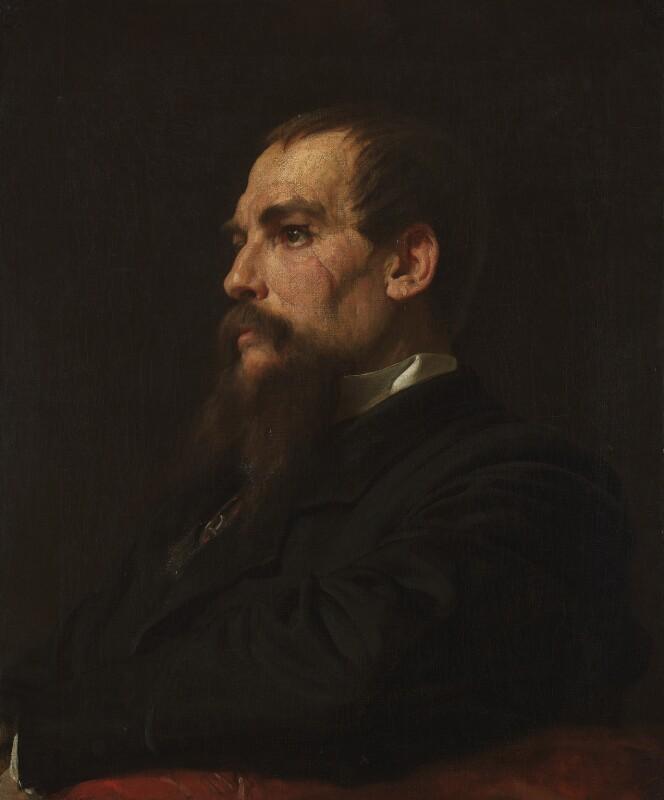 Sir Richard Francis Burton, by Frederic Leighton, Baron Leighton, 1872-1875 -NPG 1070 - © National Portrait Gallery, London