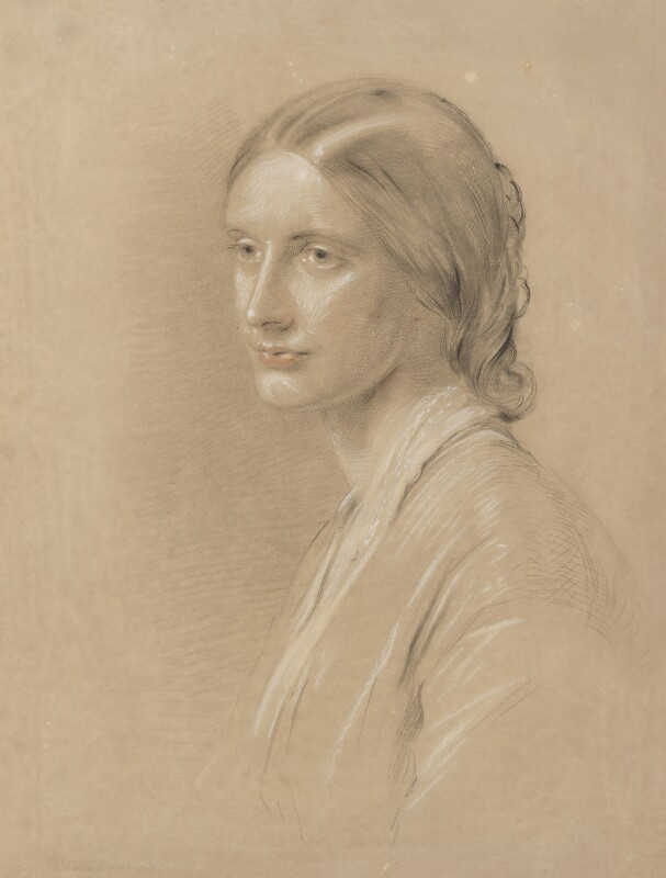 Josephine Elizabeth Butler (née Grey), by George Richmond, 1851 - NPG 6482 - © National Portrait Gallery, London