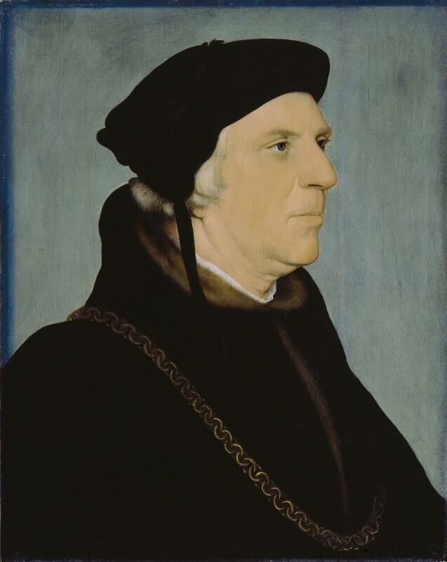 Sir William Butts, after Hans Holbein the Younger, late 16th century, based on a work of circa 1540-1543 - NPG 210 - © National Portrait Gallery, London