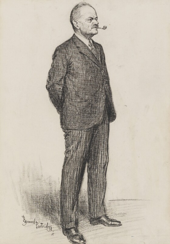 Julian Byng, 1st Viscount Byng of Vimy, by Sir (John) Bernard Partridge, variant published in Punch 8 December 1926 - NPG 3666 - © National Portrait Gallery, London