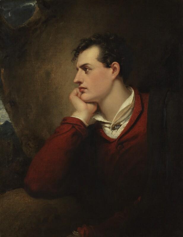 George Gordon Byron, 6th Baron Byron, by Richard Westall, 1813 - NPG 4243 - © National Portrait Gallery, London