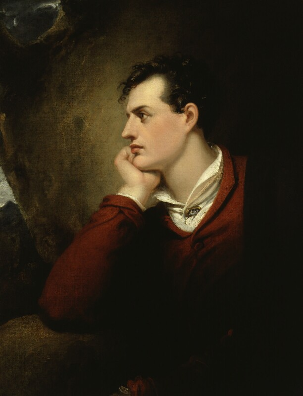 Lord Byron, by Richard Westall, 1813 -NPG 4243 - © National Portrait Gallery, London