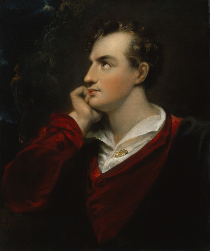 George Gordon Byron, 6th Baron Byron, after Richard Westall, early 19th century, based on a work of 1813 - NPG 1047 - © National Portrait Gallery, London