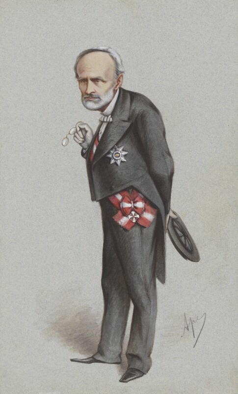 Chevalier Carlo Cadorna, by Carlo Pellegrini, published in Vanity Fair 4 March 1871 - NPG 4635 - © National Portrait Gallery, London