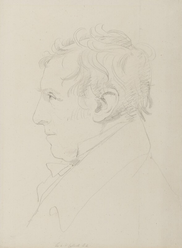 Sir Augustus Wall Callcott, by Sir Francis Leggatt Chantrey, circa 1830 -NPG 316a(8) - © National Portrait Gallery, London