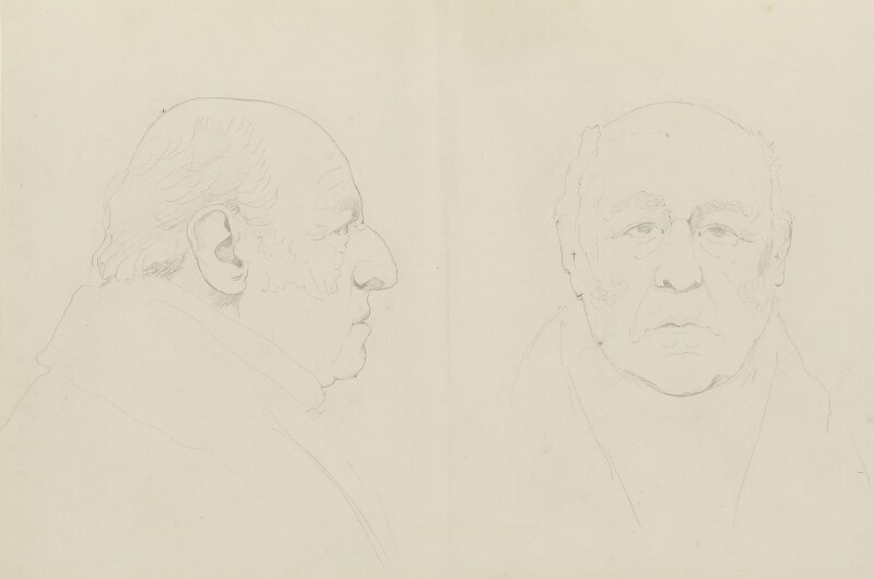 John Jeffreys Pratt, 1st Marquess Camden, by Sir Francis Leggatt Chantrey, 1830 - NPG 316a(9) - © National Portrait Gallery, London