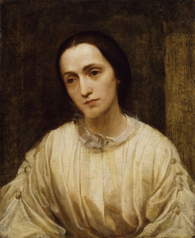 Julia Margaret Cameron, by George Frederic Watts, 1850-1852 - NPG 5046 - © National Portrait Gallery, London