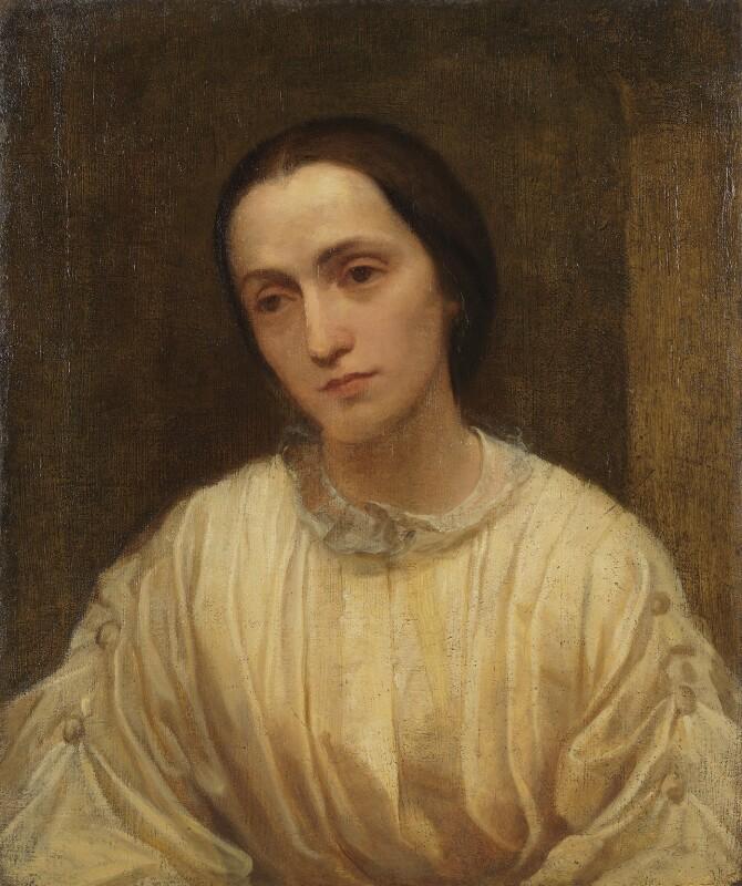 Julia Margaret Cameron, by George Frederic Watts, 1850-1852 - NPG 5046 - © National Portrait Gallery, London