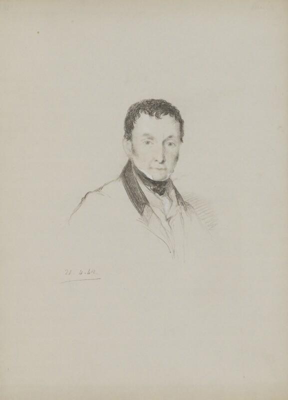 Thomas Campbell, by William Brockedon, 1842 - NPG 2515(93) - © National Portrait Gallery, London