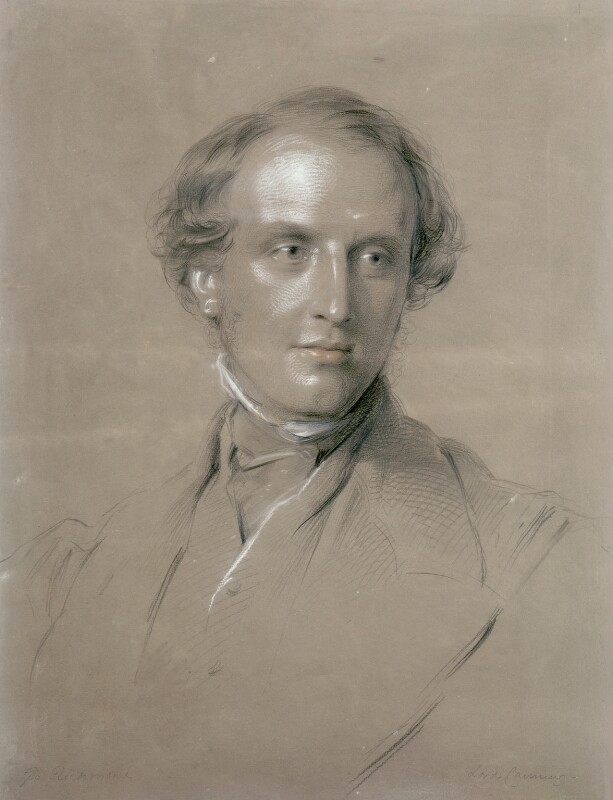 Charles John Canning, Earl Canning, by George Richmond, 1851 -NPG 1057 - © National Portrait Gallery, London