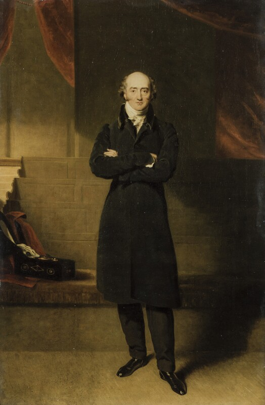 George Canning, by Sir Thomas Lawrence, and completed by  Richard Evans, circa 1825 - NPG 1338 - © National Portrait Gallery, London