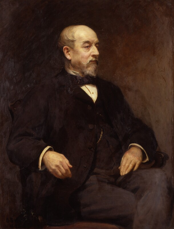 Sir Samuel Canning, by (Annie) Beatrice Bright, 1897 - NPG 4925 - © National Portrait Gallery, London