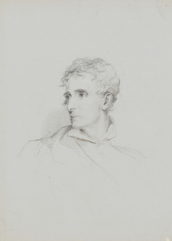 Antonio Canova, by William Brockedon, probably after  Sir Thomas Lawrence, 1823-1849 - NPG 2515(2) - © National Portrait Gallery, London