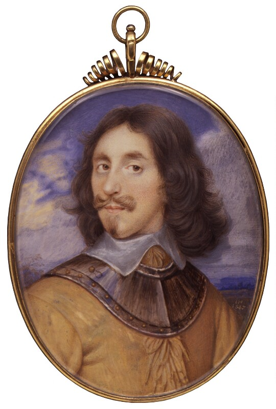 Arthur Capel, 1st Baron Capel, probably after John Hoskins, based on a work of 1647 - NPG 6275 - © National Portrait Gallery, London