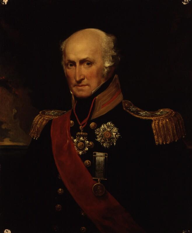 Sir Benjamin Hallowell Carew, by John Hayter, circa 1833 - NPG 373 - © National Portrait Gallery, London