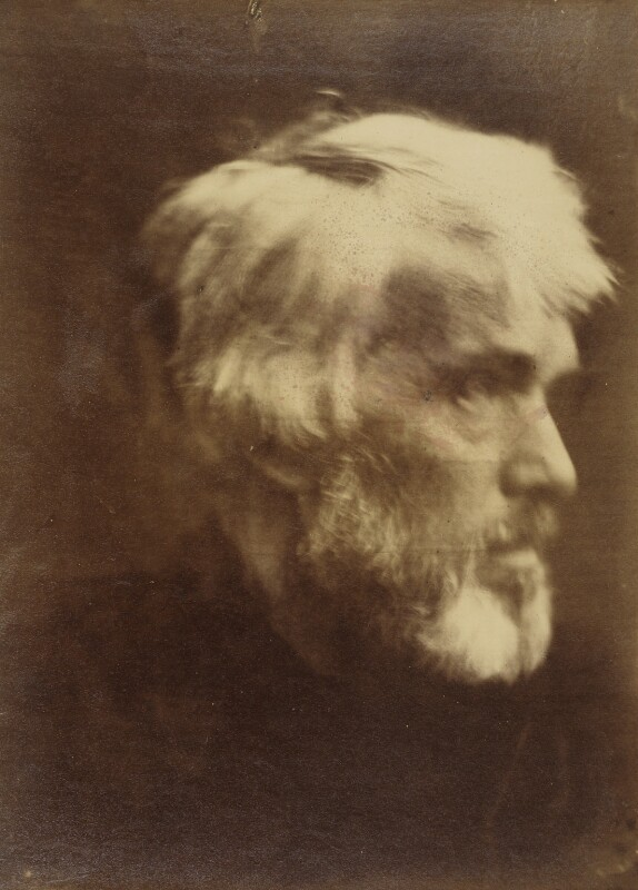 Thomas Carlyle, by Julia Margaret Cameron, 1867 - NPG P122 - © National Portrait Gallery, London