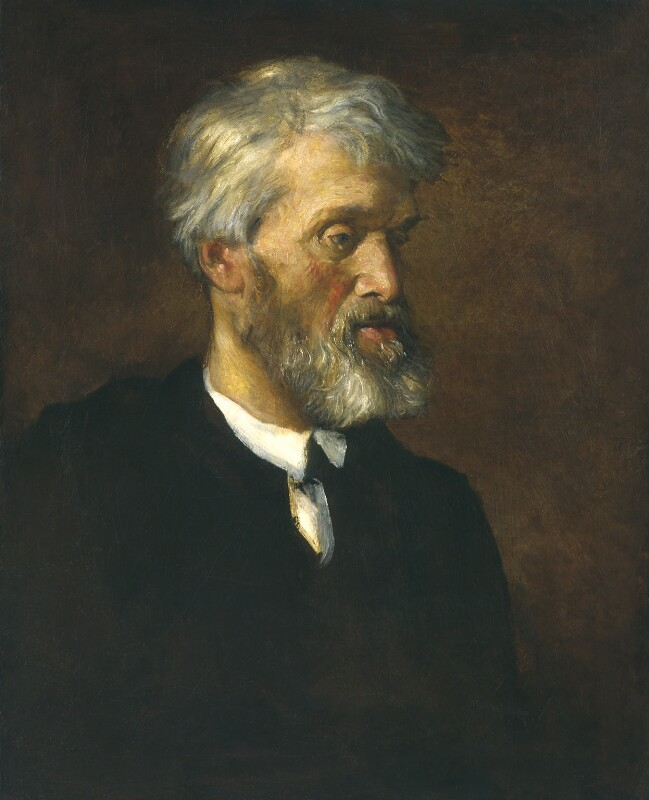 Thomas Carlyle, by George Frederic Watts, 1868 - NPG 1002 - © National Portrait Gallery, London