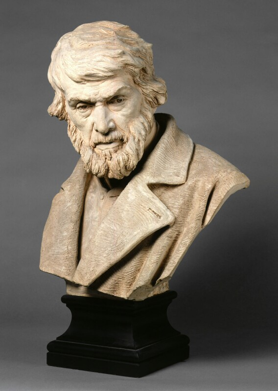 Thomas Carlyle, by Sir Joseph Edgar Boehm, 1st Bt, circa 1875 -NPG 658 - © National Portrait Gallery, London