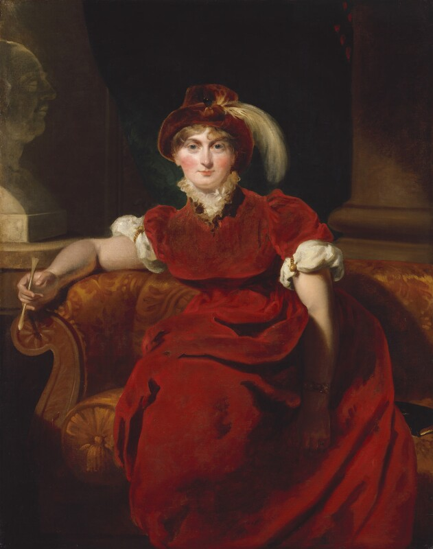 Caroline Amelia Elizabeth of Brunswick, by Sir Thomas Lawrence, 1804 - NPG 244 - © National Portrait Gallery, London