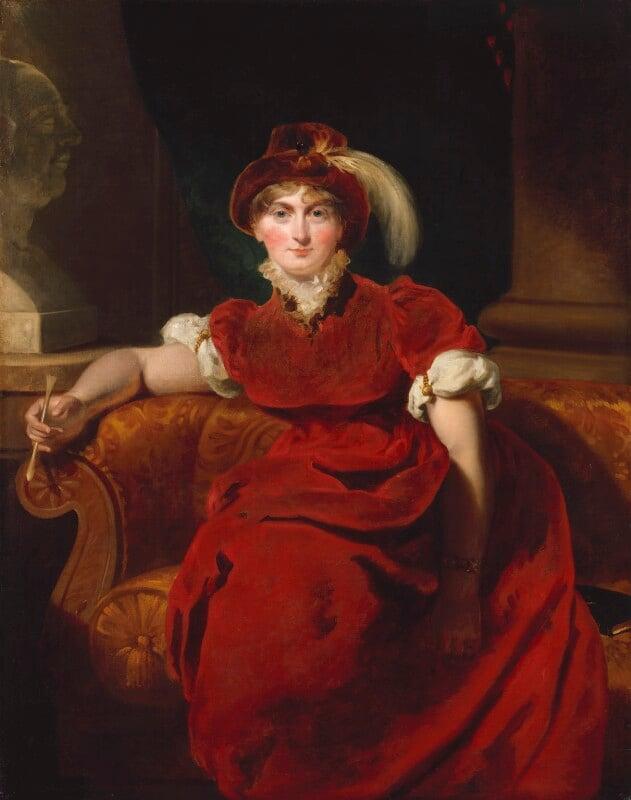 Caroline Amelia Elizabeth of Brunswick, by Sir Thomas Lawrence, 1804 - NPG 244 - © National Portrait Gallery, London
