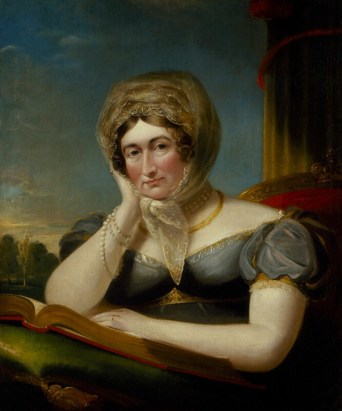 Caroline Amelia Elizabeth of Brunswick, by James Lonsdale, circa 1820 - NPG 498 - © National Portrait Gallery, London