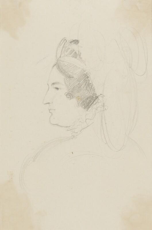 Caroline Amelia Elizabeth of Brunswick, by Sir George Hayter, circa 1820 -NPG 2662(3) - © National Portrait Gallery, London