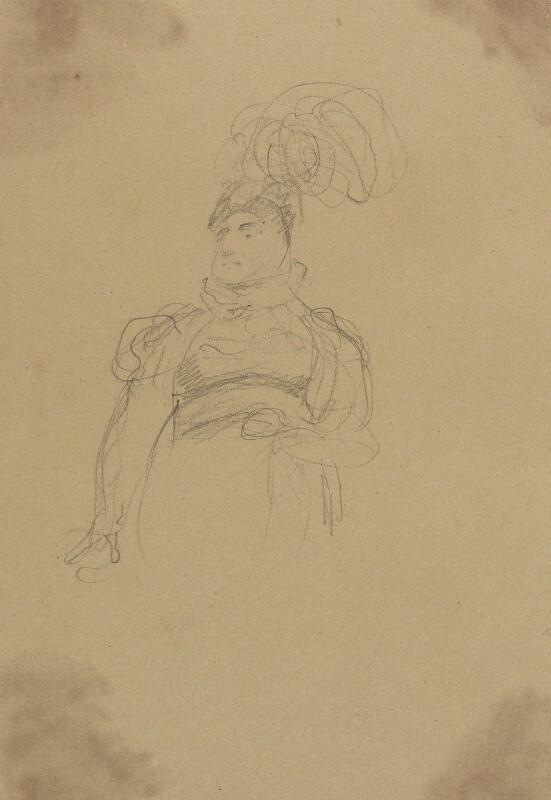 Caroline Amelia Elizabeth of Brunswick, by Sir George Hayter, circa 1820 - NPG 2662(6) - © National Portrait Gallery, London