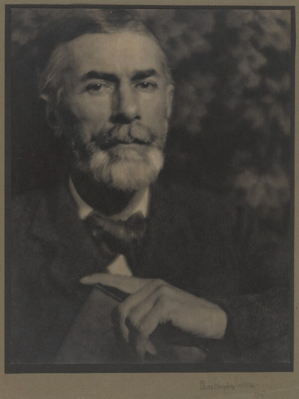 Edward Carpenter, by Alvin Langdon Coburn, 1905 - NPG P48 - © The Universal Order