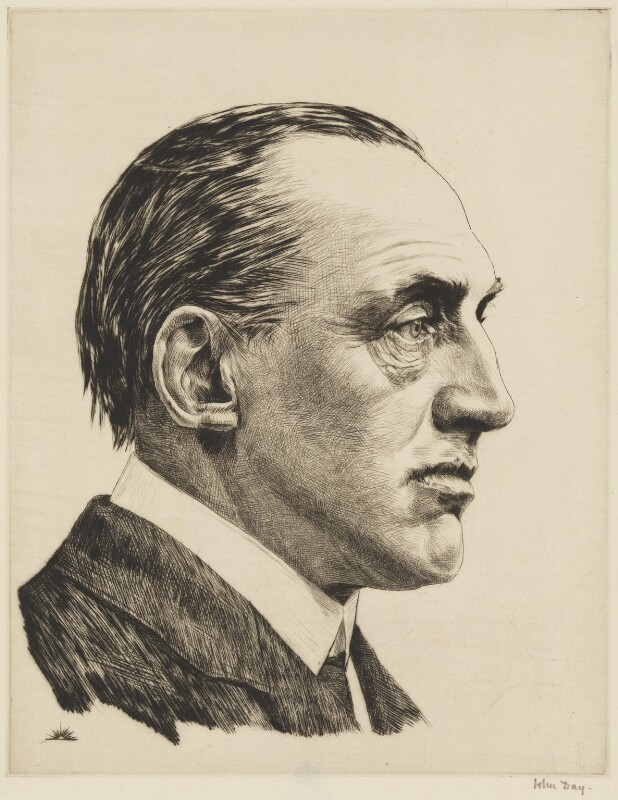 Edward Henry Carson, 1st Baron Carson, by John George Day, 1914 - NPG 2916 - © National Portrait Gallery, London