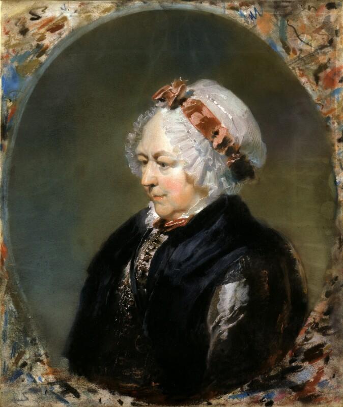 Elizabeth Carter, by Sir Thomas Lawrence, 1788-1789 - NPG 28 - © National Portrait Gallery, London
