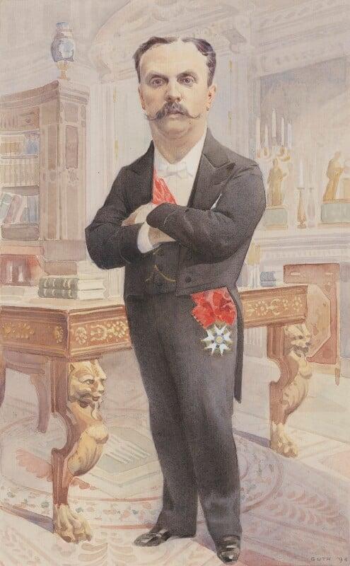 Jean Paul Pierre Casimir-Perier, by Jean Baptiste Guth ('GUTH'), 1894 - NPG 4707(8) - © National Portrait Gallery, London