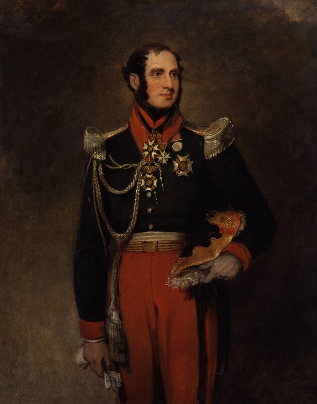 Paolo Ruffo di Bagnaria, Prince of Castelcicala, by William Salter, 1834-1840 -NPG 3703 - © National Portrait Gallery, London